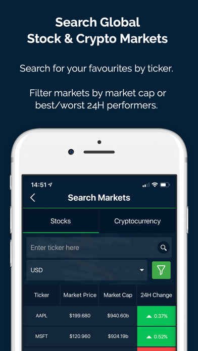 Bullseye - Stocks & Crypto for Pc - Download free Finance