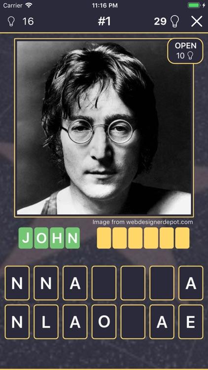 Quiz: Famous People screenshot-3