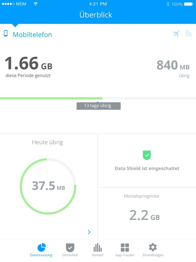?My Data Manager VPN Sicherheit Screenshot