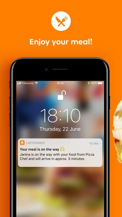 Lieferando.at Order Food screenshot-4