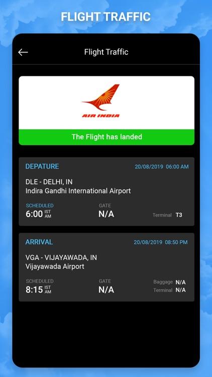 Flight Status - Air Traffic screenshot-3