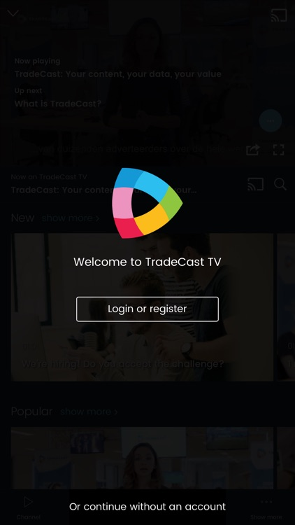 TradeCast TV screenshot-3