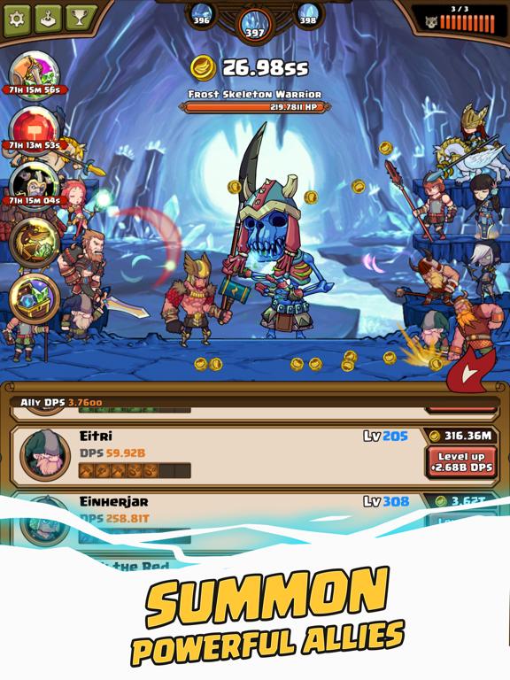 Thor : War of Tapnarok screenshot 11