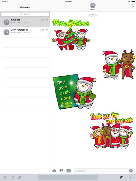 Animated Happy Santa Claus Gif screenshot 4