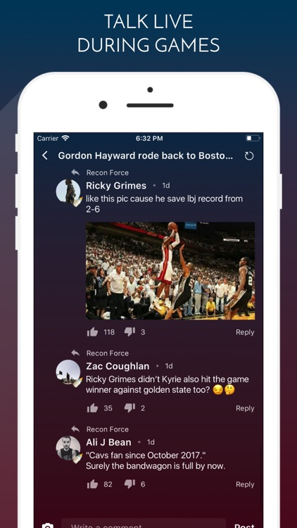 ClutchPoints - Live Sports screenshot-1