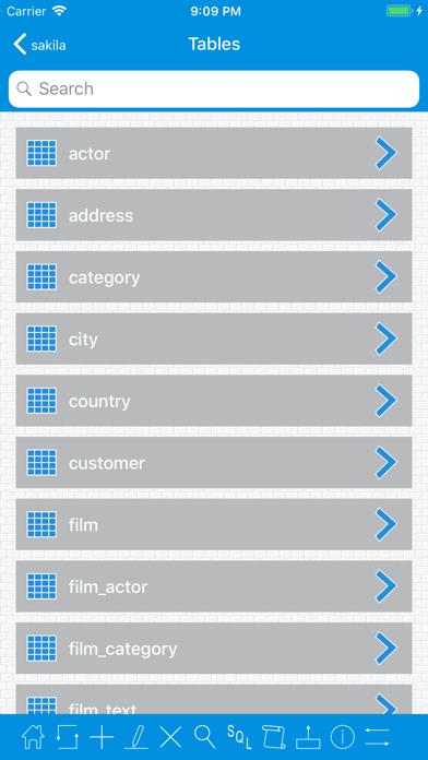 MySqlProg2 - MySql Client ScreenShot3