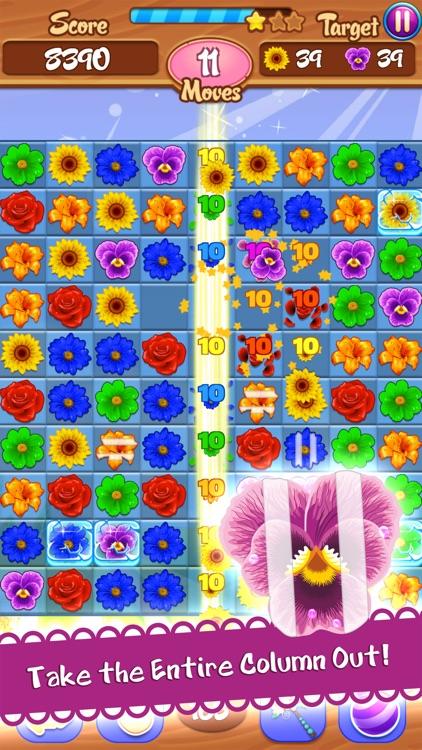 Flower Mania - Match 3 Game screenshot-4