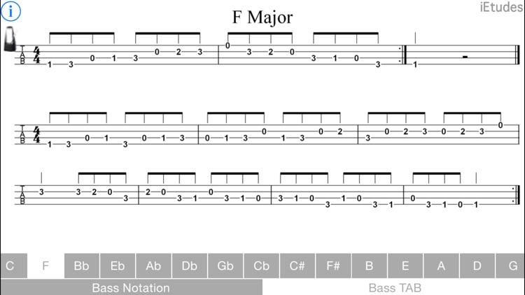 Major Scales Bass Guitar screenshot-4