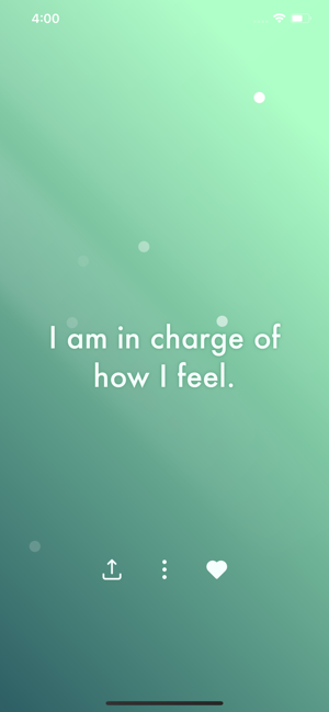 ‎I am - Positive Affirmations Screenshot