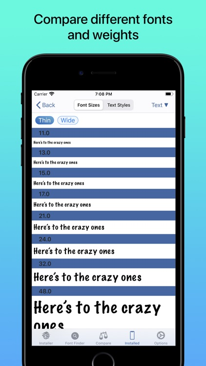 iFont: find, install any font screenshot-3