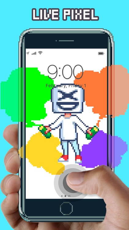 WOW Pixel - Live Wallpapers screenshot-0