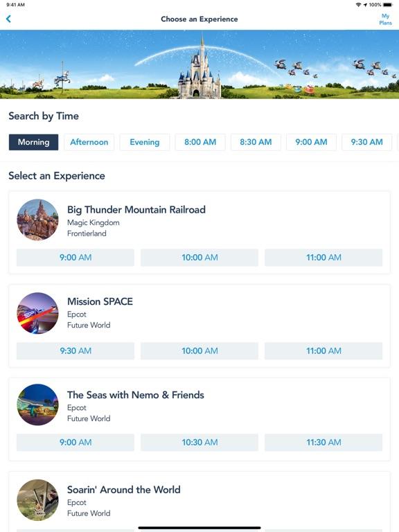 My Disney Experience-ipad-2