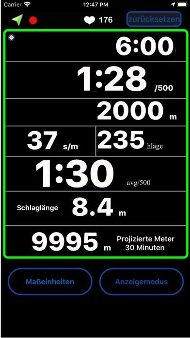 Rowing Coach 4.0Screenshot von 8