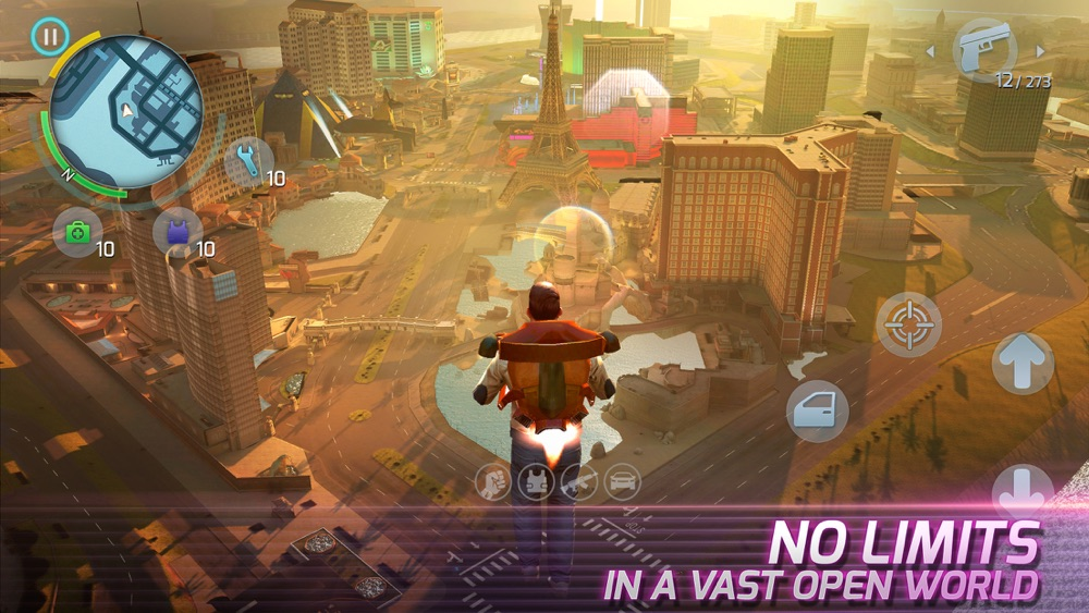 Gangstar Vegas App for iPhone - Free Download Gangstar Vegas