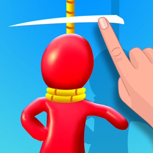Stickman Rescue 3D - Cut Rope