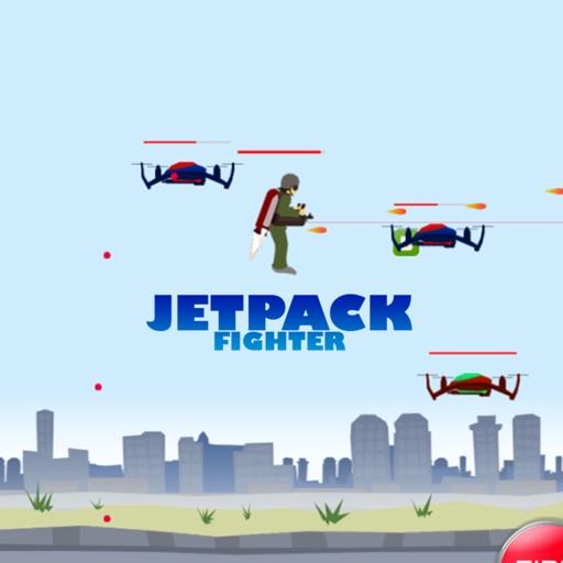 Endless 2D JetPack Fighter