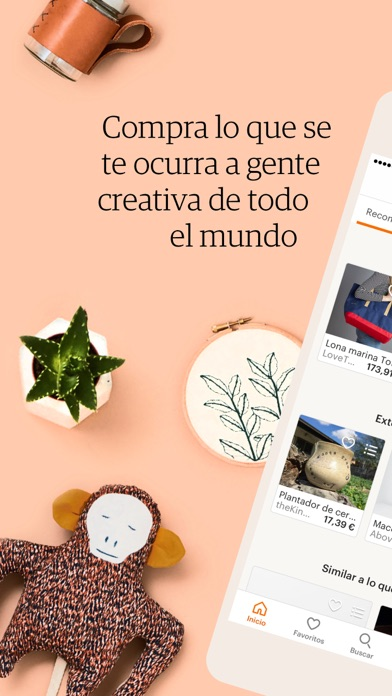Screenshot for Etsy – Creaciones únicas in Peru App Store