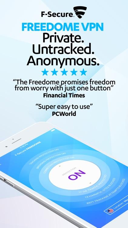 F-Secure FREEDOME VPN screenshot-0