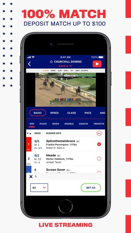 BetAmerica: Live Horse Racing screenshot-0