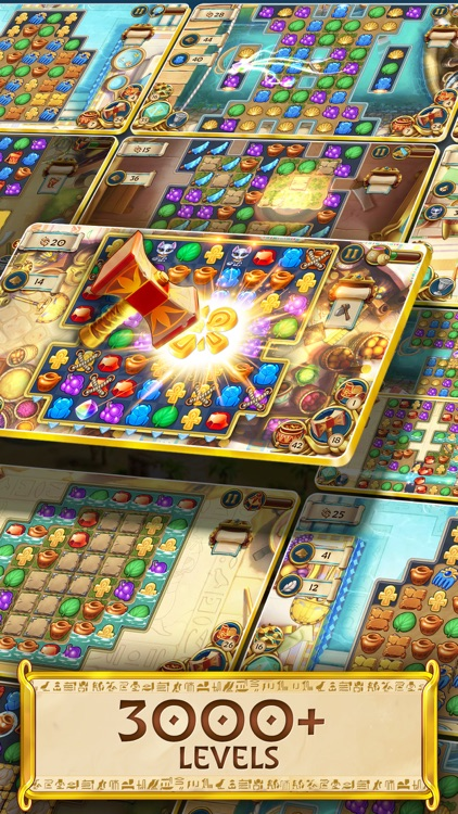 Jewels of Egypt: Match 3 Game screenshot-5