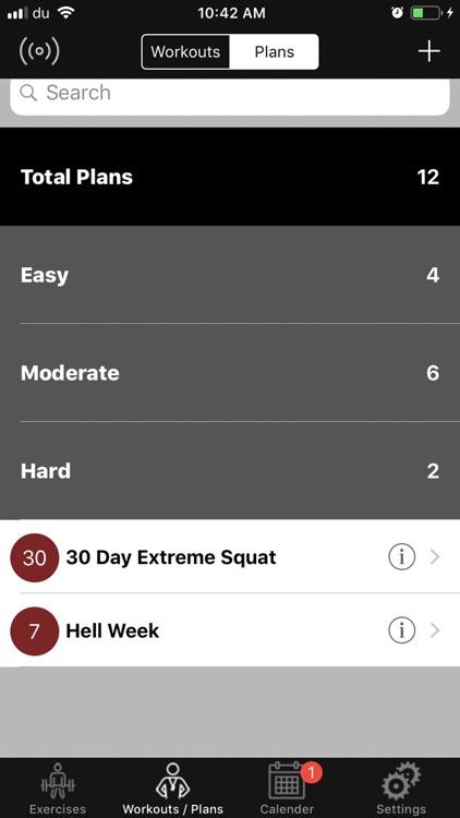 +1 Workout screenshot-5