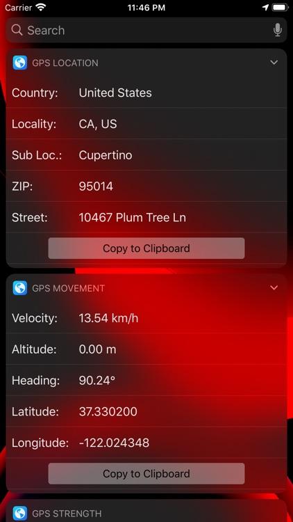 Pacific GPS Location Dashboard