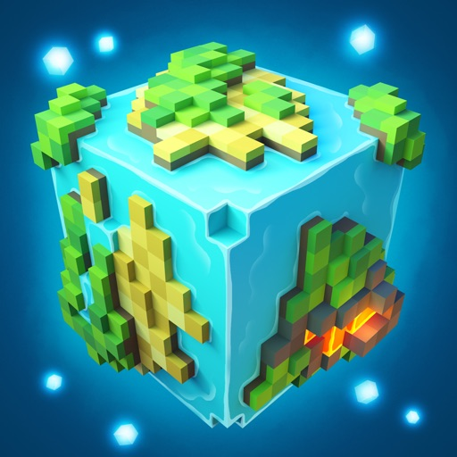 Planet of Cubes Survival Craft iOS App