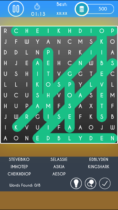 WordDict : Word Search Puzzles screenshot 4