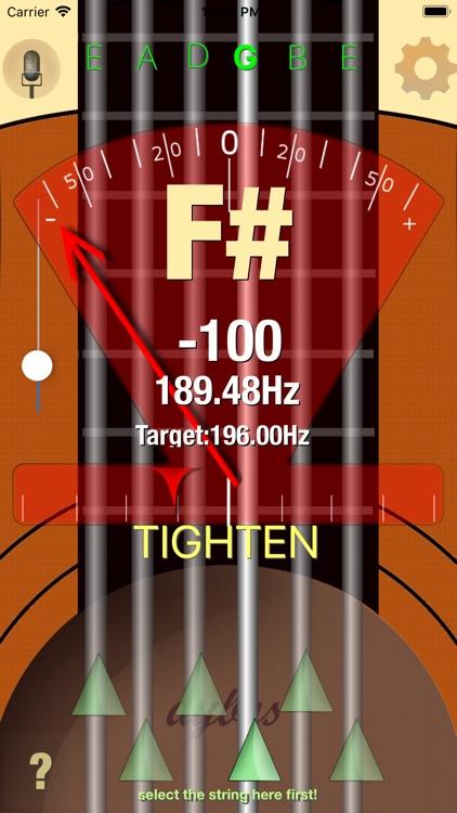 Dybos Guitar Tuner screenshot-4