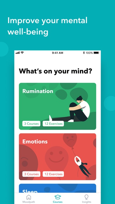 Moodpath: Depression & Anxiety Screenshot