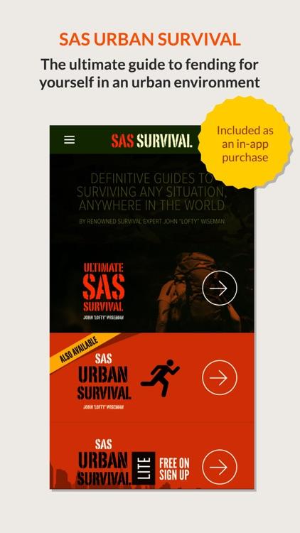 SAS Survival Guide - Lite screenshot-4