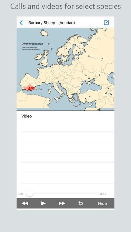 Stuarts European Mammals screenshot-3