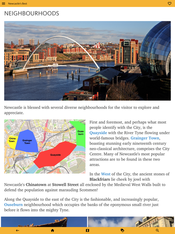 Newcastle's Best: Travel Guide screenshot 15
