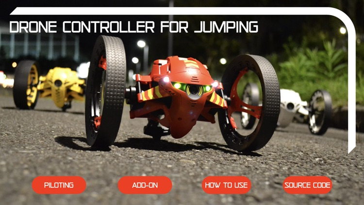 Drone Controller for Jumping