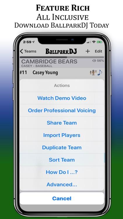 BallparkDJ Walkout Intros screenshot-7