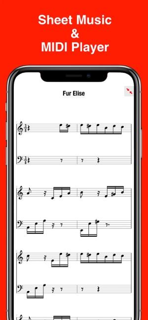 MIDI Score on the App Store