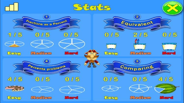 Percent. Smart Pirates screenshot-4