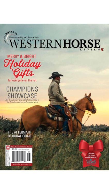 Western Horse Review Magazine screenshot-3