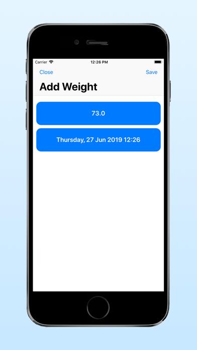 Heikin: Average Weight Tracker screenshot 4