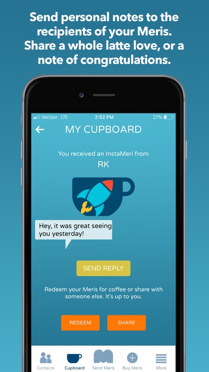 Meri Coffee Sharing App screenshot-5
