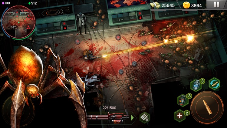 Zombie Shooter: Ares Virus SAS screenshot-3