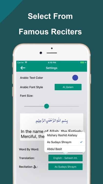 Quran Word by Word Translation screenshot-9