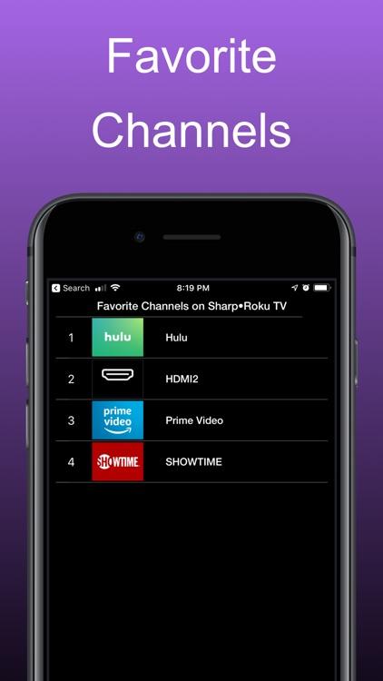 Remote for Roku Tvs: iRoku Pro screenshot-5