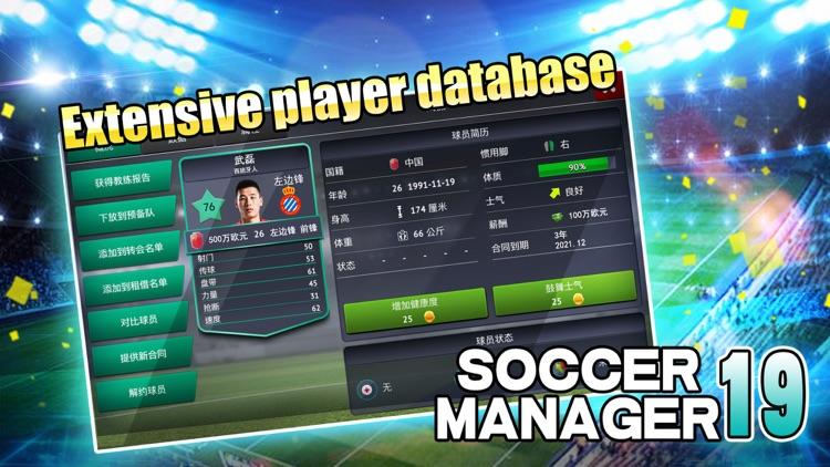 Soccer Manager 2019 - SE screenshot-3