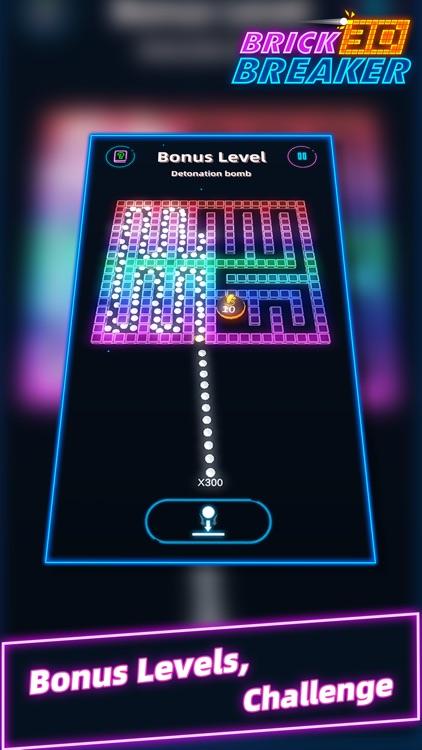 Brick Breaker 3D - Slide Balls screenshot-0