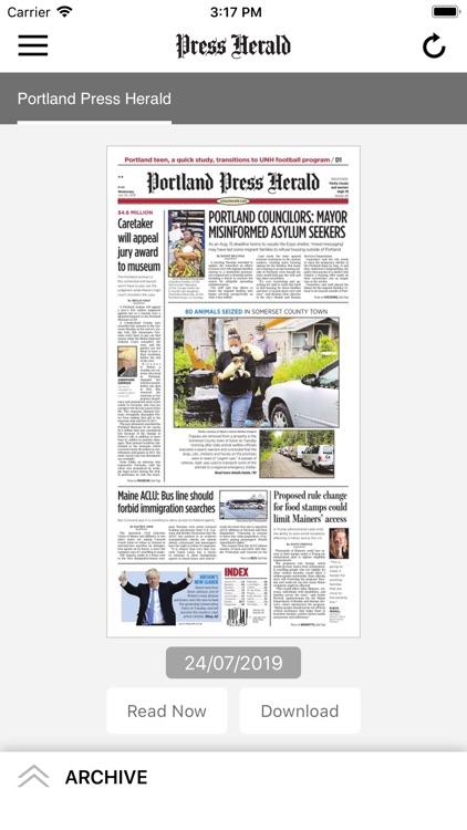 Press Herald ePaper