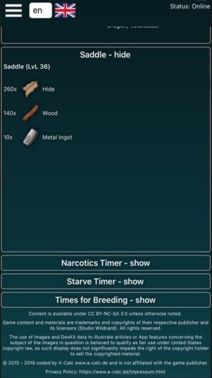 A-Calc Pro for Ark Survival screenshot-3