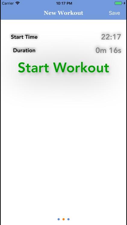 Exercise Log! screenshot-8