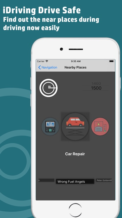 iDriving : Safe Driving Maps by imdad hussain