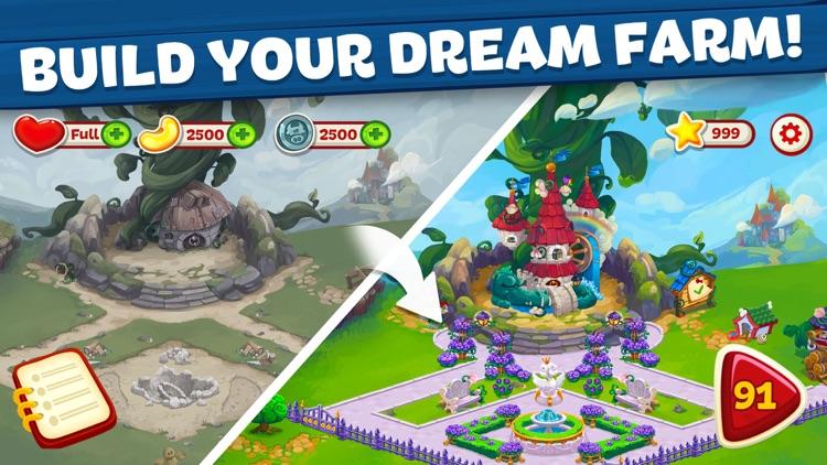 Wild Farm Match-3 Adventure screenshot-0